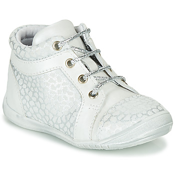 Scarpe Bambina Sneakers alte GBB OMANE Grigio / Bianco