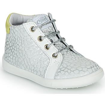 Scarpe Bambina Sneakers alte GBB FAMIA Argento