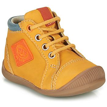 Scarpe Bambino Sneakers alte GBB TARAVI Giallo