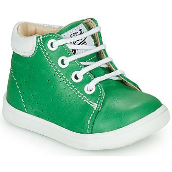 Scarpe Bambino Sneakers alte GBB FOLLIO Verde