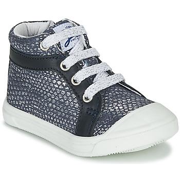 Scarpe Bambina Sneakers alte GBB NAVETTE Blu