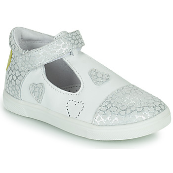 Scarpe Bambina Sneakers basse GBB ANISA Bianco