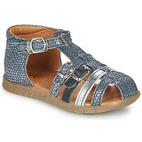 Scarpe Bambina Sandali GBB PERLE Blu