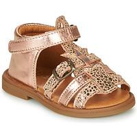 Scarpe Bambina Sandali GBB CARETTE Rosa / Oro