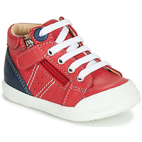 Scarpe Bambino Sneakers alte GBB ANATOLE Rosso