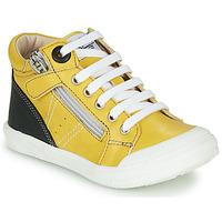 Scarpe Bambino Sneakers alte GBB ANATOLE Giallo