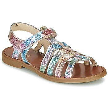 Scarpe Bambina Sandali GBB KATAGAMI Rosa / Multicolore