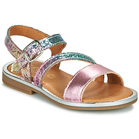 Scarpe Bambina Sandali GBB FANA Rosa / Multicolore