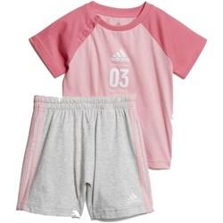 Abbigliamento Bambina Completo adidas Originals DV1239 Rosa