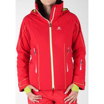Abbigliamento Donna giacca a vento Salomon Whitecliff GTX 374720 red