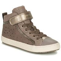Scarpe Bambina Sneakers basse Geox KALISPERE Beige