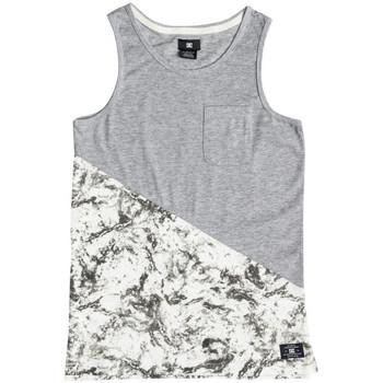 Abbigliamento Unisex bambino Top / T-shirt senza maniche DC Shoes Bloomingtonb b Bianco