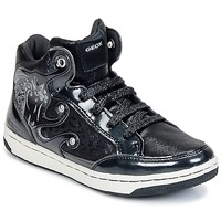 Scarpe Bambina Sneakers alte Geox CREAMY A Nero