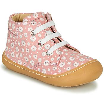 Scarpe Bambina Sneakers alte GBB ATARINA Rosa