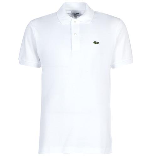 Abbigliamento Uomo Polo maniche corte Lacoste POLO L12 12 REGULAR Bianco