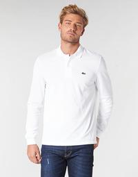 Abbigliamento Uomo Polo maniche lunghe Lacoste L1312 Bianco