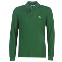 Abbigliamento Uomo Polo maniche lunghe Lacoste L1312 Verde