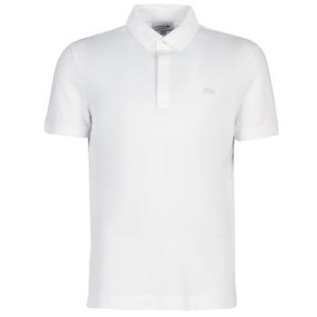 Abbigliamento Uomo Polo maniche corte Lacoste PARIS POLO REGULAR Bianco