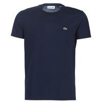 Abbigliamento Uomo T-shirt maniche corte Lacoste TH6709 Marine