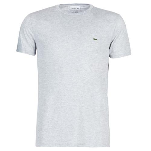Abbigliamento Uomo T-shirt maniche corte Lacoste TH6709 Grigio