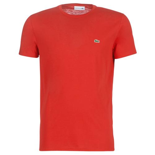 Abbigliamento Uomo T-shirt maniche corte Lacoste TH6709 Rosso
