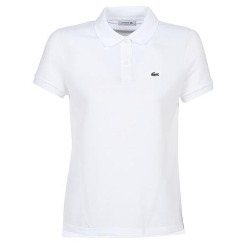 Abbigliamento Donna Polo maniche corte Lacoste PF7839 Bianco