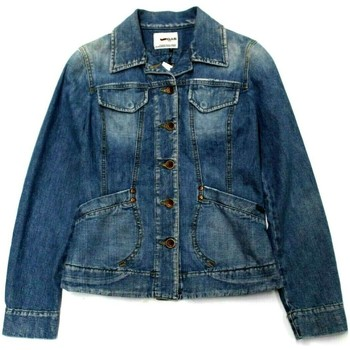 Abbigliamento Donna Giacche in jeans Gas ATRMPN-05198 Blu