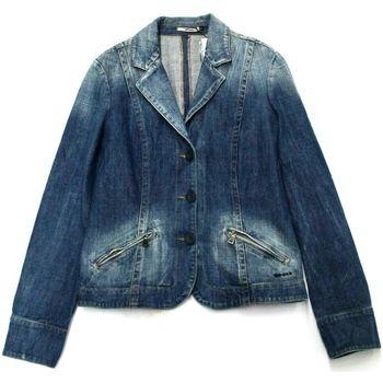 Abbigliamento Donna Giacche in jeans Gas ATRMPN-05199 Blu