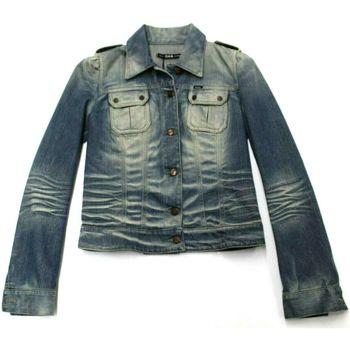 Abbigliamento Donna Giacche in jeans Gas ATRMPN-05200 Blu