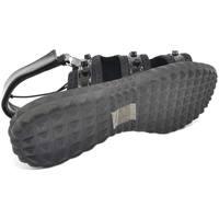 Scarpe Donna Sandali Malu Shoes SANDALI BASSI NERI COMFORT CON SUOLA ANTISCIVOLO E PLANTARE ANA NERO