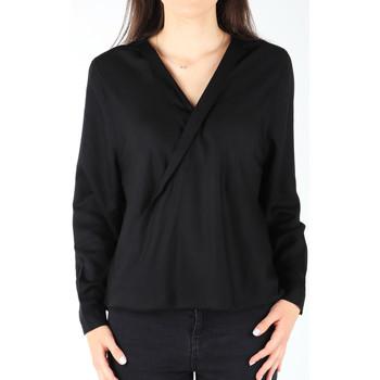 Abbigliamento Donna Camicie Wrangler L/S Wrap Shirt Black W5180BD01 black
