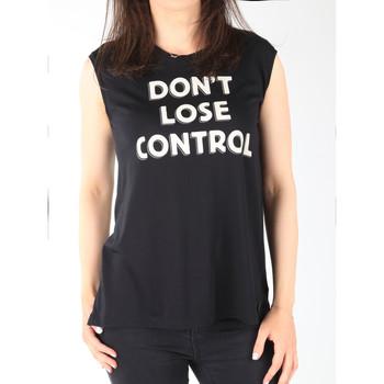 Abbigliamento Donna Top / T-shirt senza maniche Lee T-shirt  Muscle Tank Black L42CPB01 black