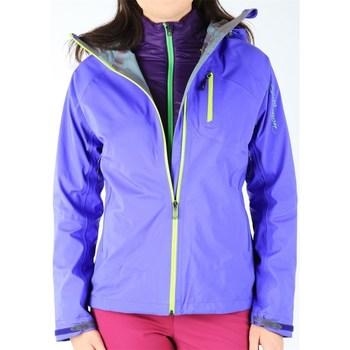 Abbigliamento Donna Giacche Salomon Quest Hike Trip 3 IN 1 W Viola