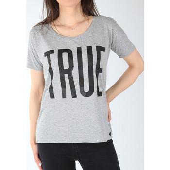 Abbigliamento Donna T-shirt maniche corte Lee T-shirt  Ultimate Tee L42JEP37 grey