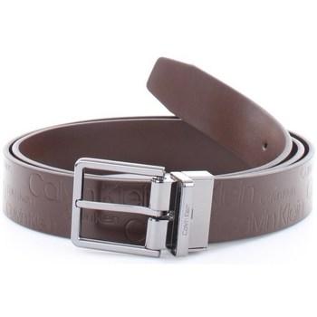 Accessori Uomo Cinture Calvin Klein Accessories k50k504890 Cinture Uomo Marrone Marrone