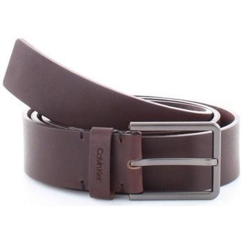 Accessori Uomo Cinture Calvin Klein Accessories k50k504889 Cinture Uomo Marrone Marrone