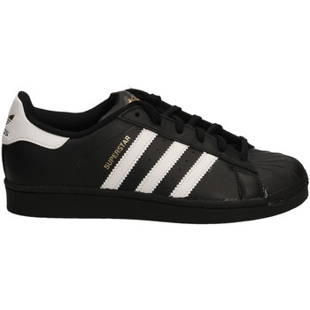 Scarpe Donna Sneakers basse adidas Originals SUPERSTAR FOUNDATION cobla-nero-bianco