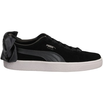 Scarpe Donna Sneakers basse Puma SUEDE BOW WNS blair-nero-grigio