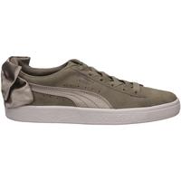 Scarpe Donna Sneakers basse Puma SUEDE BOW WNS elssi-grigio-argento
