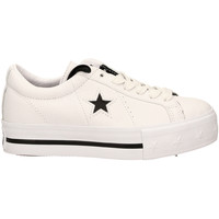 Scarpe Donna Sneakers basse All Star ONE STAR PLATFORM OX whibl-bianco-nero