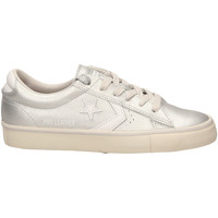 Scarpe Donna Sneakers basse All Star PRO LEATHER VULC OX silwh-argento-bianco