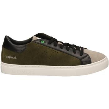 Scarpe Uomo Sneakers basse Womsh SNIK milta-verde-marrone
