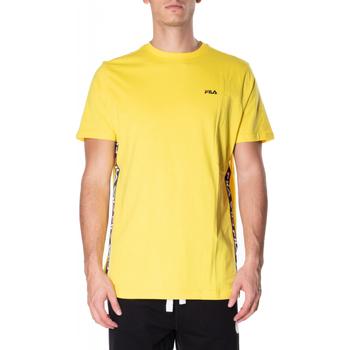 Abbigliamento Uomo T-shirt maniche corte Fila TALAN TEE SS vibye-giallo