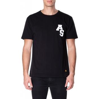 Abbigliamento Uomo T-shirt maniche corte Atlantic Star Apparel T-SHIRT col-5-nero