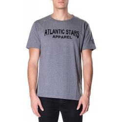 Abbigliamento Uomo T-shirt maniche corte Atlantic Star Apparel T-SHIRT col-2-grigio-chiaro