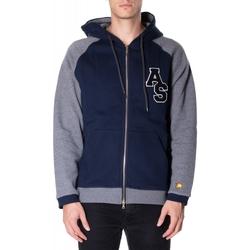 Abbigliamento Uomo Felpe Atlantic Star Apparel FELPA col-2-blu-grigio