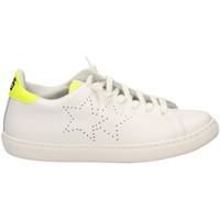 Scarpe Donna Sneakers basse 2 Stars LOW BASICO biagf-bianco-giallo