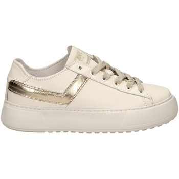Scarpe Donna Sneakers basse Pony TOP STAR OX LITE c1-bianco-oro