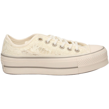 Scarpe Donna Sneakers basse All Star CTAS CLEAN LIFT OX whimo-bianco-grigio