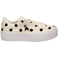 Scarpe Donna Sneakers basse All Star ONE STAR PLATFORM OX egbla-bianco-nero